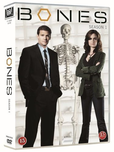Bones - Kausi 1 (6 disc) (DVD) 11,95 e