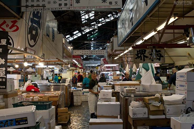Visiting Tokyo's Tsukiji Fish Market – A Look Into One of the World's Largest Wholesale Markets via @packmeto