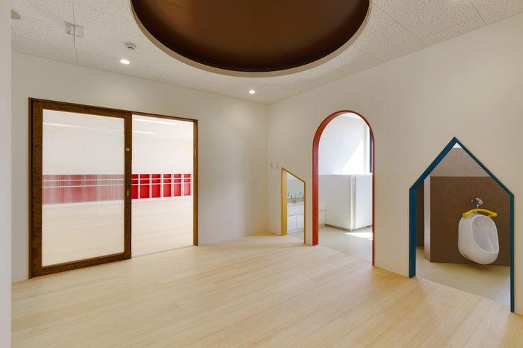 Gallery of C.O Kindergarten and Nursery / HIBINOSEKKEI + Youji no Shiro - 8