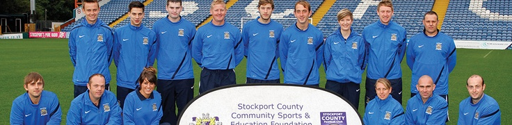 Stockport County FC Community Foundation,Home