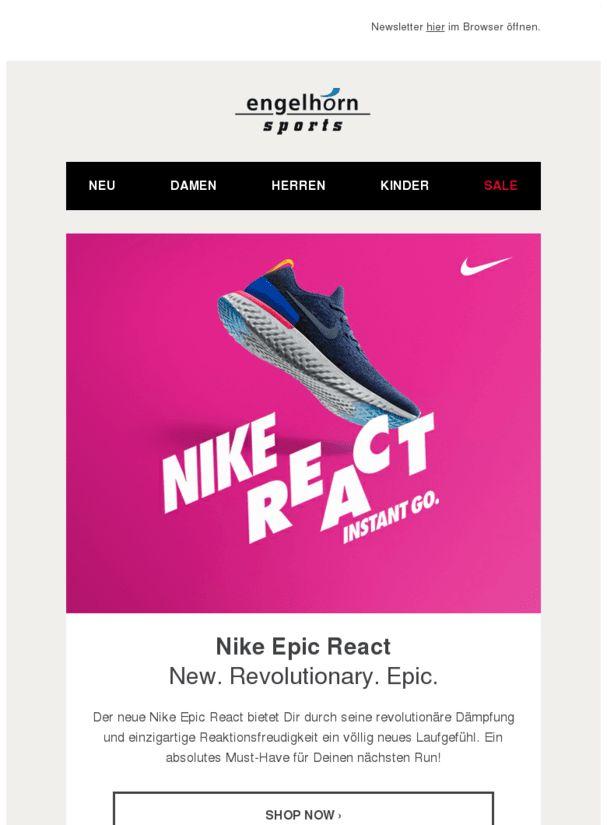 Nike Epic React: Innovation für Deine Laufperformance