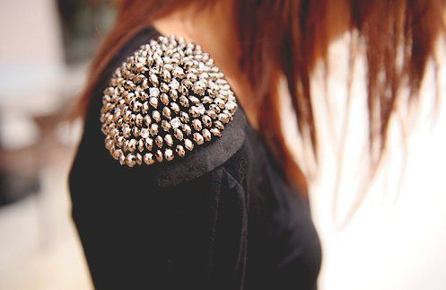 Studded Shoulders