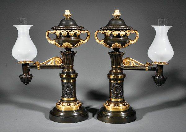 Argand Lamp 1830 S Southern Antebellum Style 1790 1860