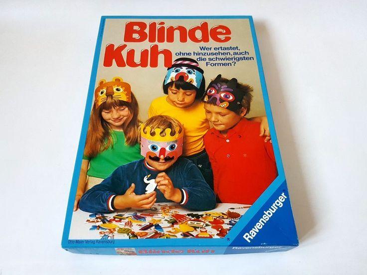 Ravensburger Blinde Kuh 1977 mit Stanztafeln 611 5 301 2 | eBay