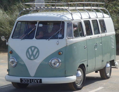 Campervan love - soft aqua!