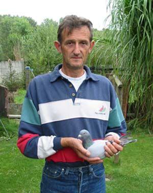 Van Winkel Jef wins Vichy against 11.081 young birds (2005) | Pigeon Paradise