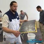 Super Ausbildungsplätze zum Maler und Lackierer gibt´s beim Malermeisterbetrieb Plaggenmeier - Auzubi beim Valpaint Seminar