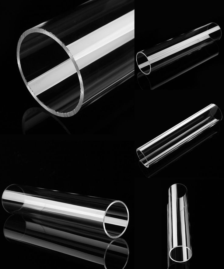 [Visit to Buy] 30cm Acrylic Tube Clear Plexiglass Lucite Tube For Lamps Lanterns Building Materials Toy DIY Crafts Material OD 6.5cm #Advertisement