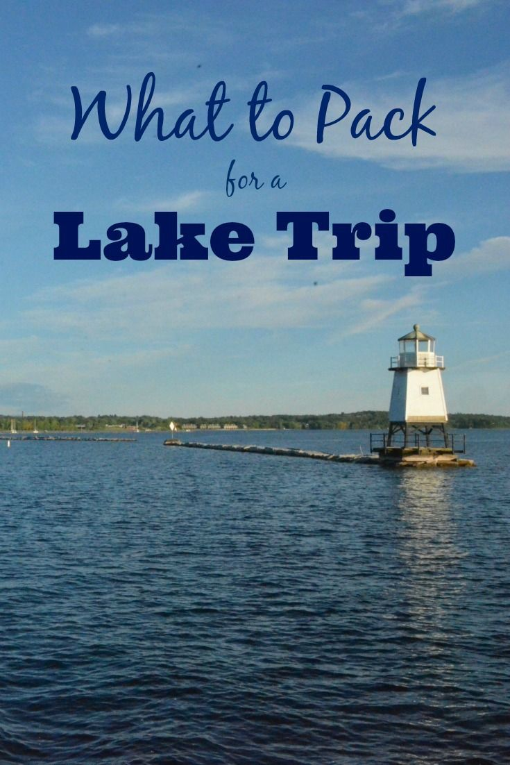 What to Pack for a Day on the Lake with Kids: A comprehensive packing list for your family travels to lake destinations, including information and tips on boating resources. [sponsored]