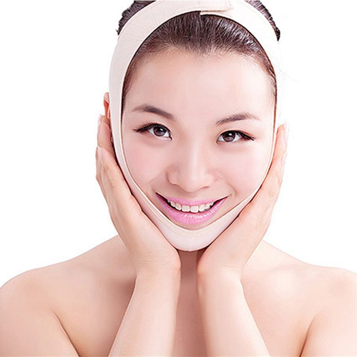 1PCS Wrinkle V Face Chin Cheek Lift Up Slimming Slim Mask Cheek Lift Up Slimming Ultra-thin Belt Strap Band Rising