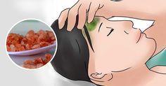 A dor de cabeça da enxaqueca é causada por uma deficiência de sódio…