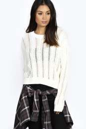 Anna Crop Cable Jumper Get wonderful discounts up to 60% Off at Boohoo with Coupon and Promo Codes.