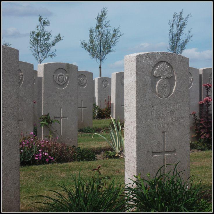 Bard Cottage Cemetery, Boezinge (Belgium)