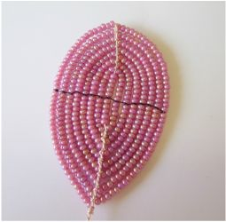 french beading technique tutorials - lacing