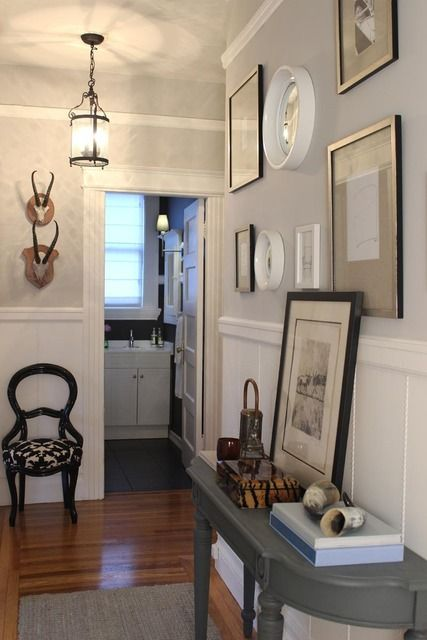 Like the narrow table, I would like something like this for the entryway off the foyer.