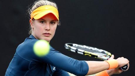 Quebec's Eugenie Bouchard makes big jump in WTA rankings - http://f3v3r.com/2013/04/08/quebecs-eugenie-bouchard-makes-big-jump-in-wta-rankings/