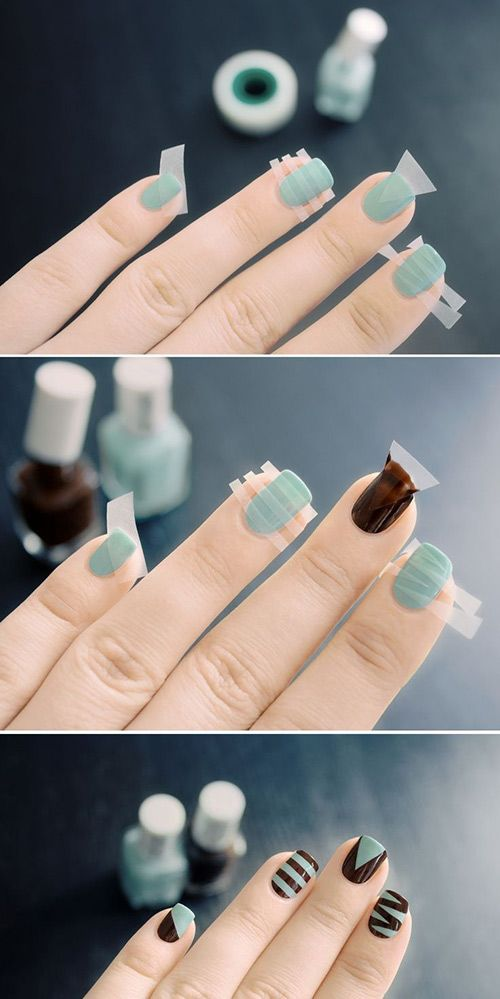 Best 25 line nail art ideas on pinterest easy nail art gel every girl likes apply different nail art designs to their nails here is a step prinsesfo Image collections