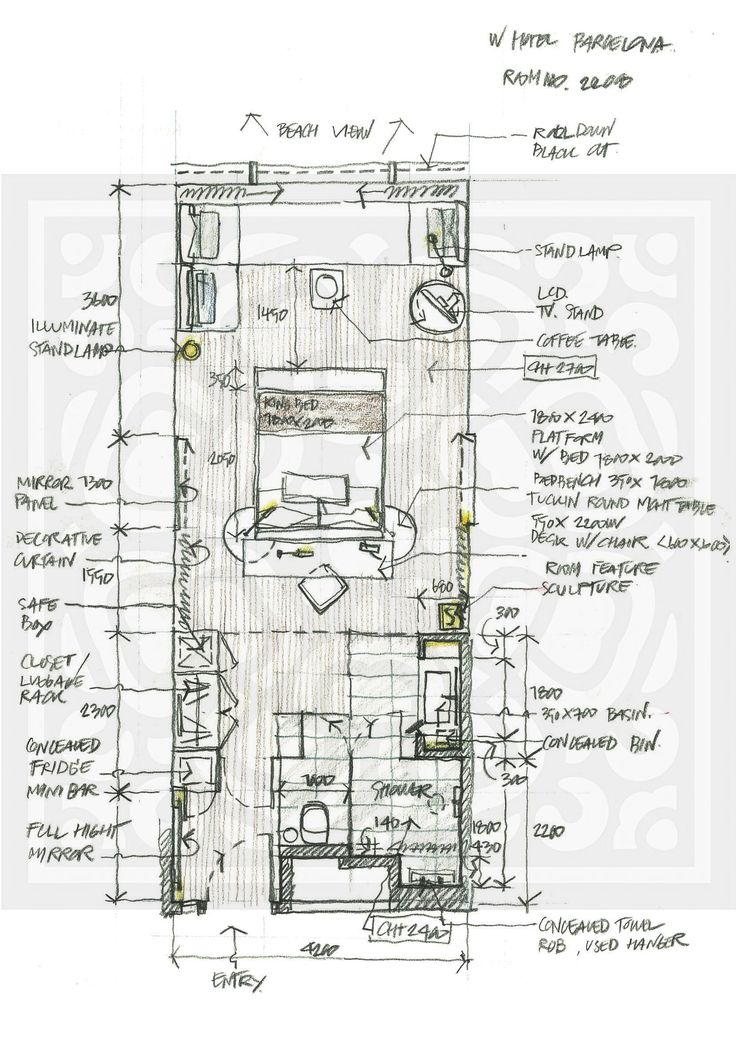 Hotel Room Plan: 117 Best Images About Hotel Room Plans On Pinterest