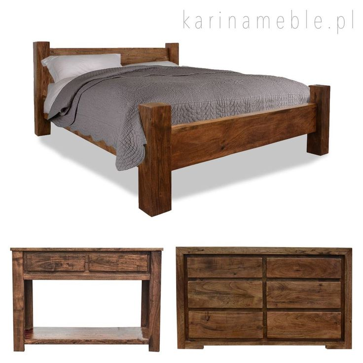 Meble z drewna akacji indyjskiej mają prosty, ponadczasowy design podkreślony pięknym, orzechowym kolorem. Drewno akacja ma ciepły kolor swoje. Łóżko jest zrobione z litego bale z drewna akacja. Meble z serii są dostępny w dwóch koloru. Meble z serii akacja pasują idealne do meble drewniane, meble kolonialne i meble indyjskie.