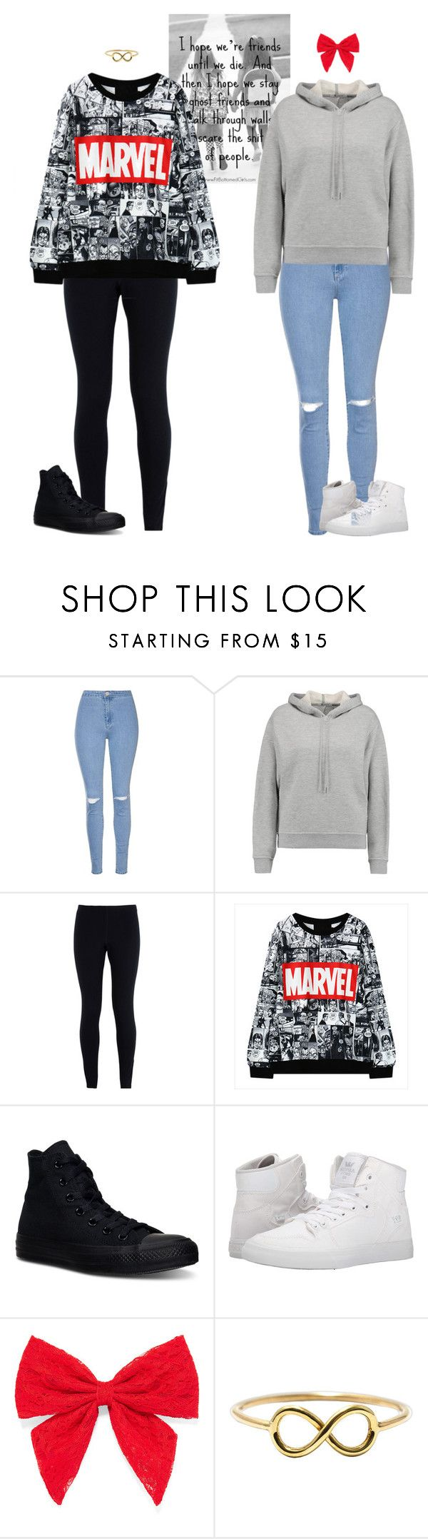 """""""You & I"""" by dj1direction ❤ liked on Polyvore featuring Glamorous, T By Alexander Wang, NIKE, Converse, Supra and Carole"""