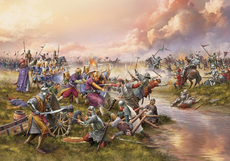 Battle of Mohacs, 29th August 1526 by SzenSzen