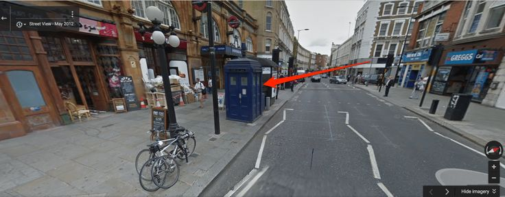 This Easter egg lets you explore the Doctor Who Tardis from inside Google Maps Street View and see how much bigger the TARDIS is on the inside.