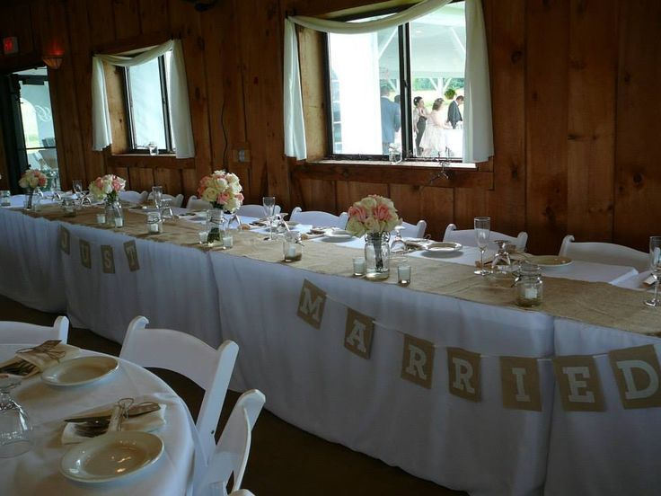 1000 Images About Head Table Decorations On Pinterest