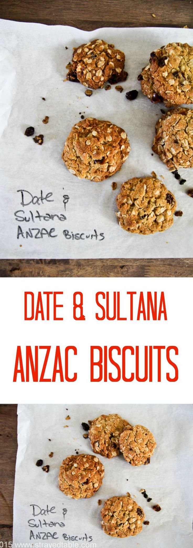 Delicious date and sultana ANZAC biscuit recipe that will impress your granddad!