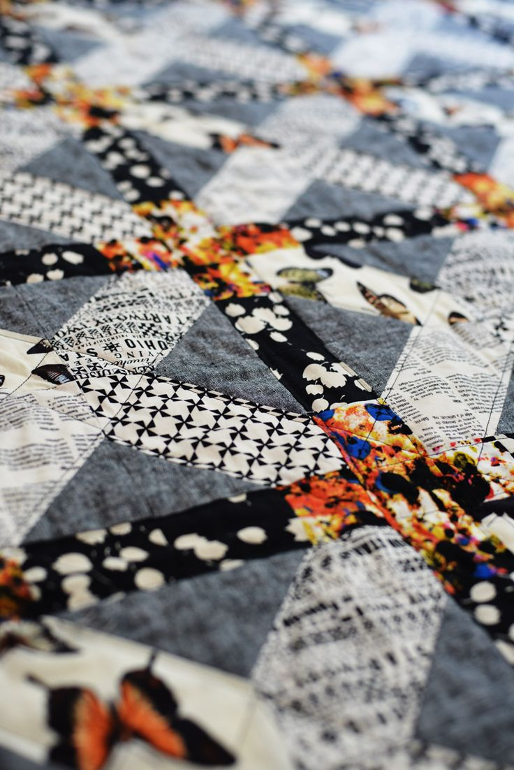 Japanese X and Plus Quilt Finished! – ModernHandcraft