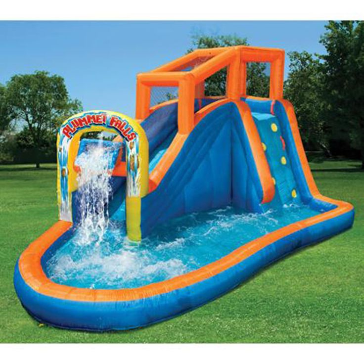16 best Inflatable waterslide for kids images on Pinterest ...