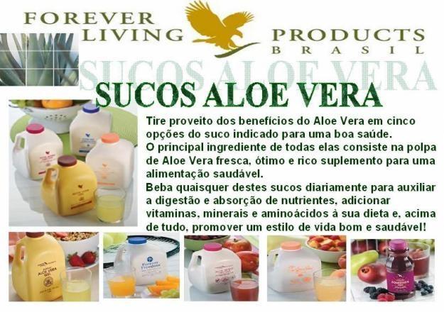 Sucos da Forever Living Brasil.  N° FLP:440100474599