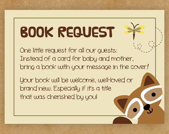 Woodland Baby Shower Invitation Book by LittleHouseLovelies