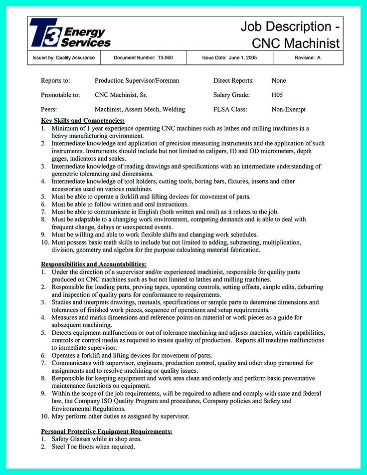 cool Best Data Scientist Resume Sample to Get a Job, Check more at - cnc machinist resume