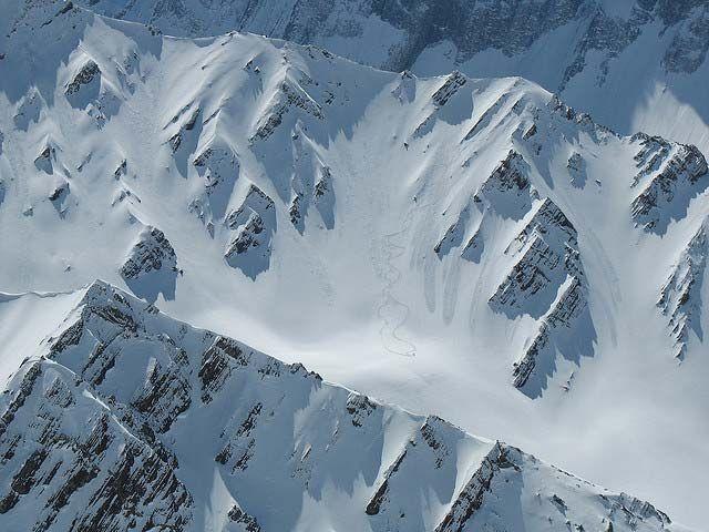 Endless terrain for heli-skiing near Valle Nevado, Chile #Travel #gear #fitness #powderquest #style #ski #snowboard www.powderquest.com