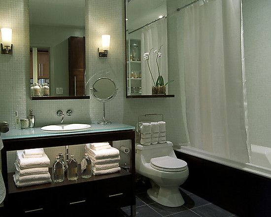This was my inspiration for one of the bathrooms in the Ridge Rd. house. Think I wanna do it again. Candice Olson Living Room Design, Pictures, Remodel, Decor and Ideas -