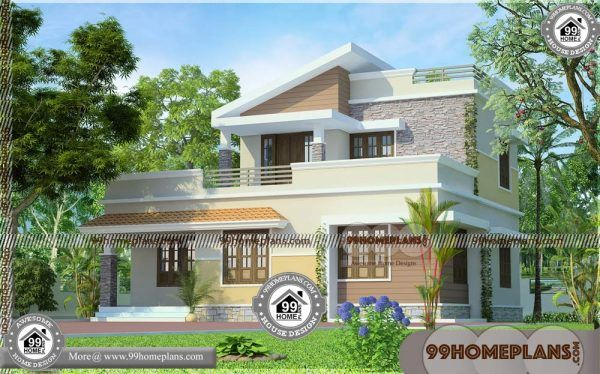 South Indian Houses 90 2 Storey House Complete Plans Modern Ideas Kerala House Design House Plans With Photos House Design Pictures