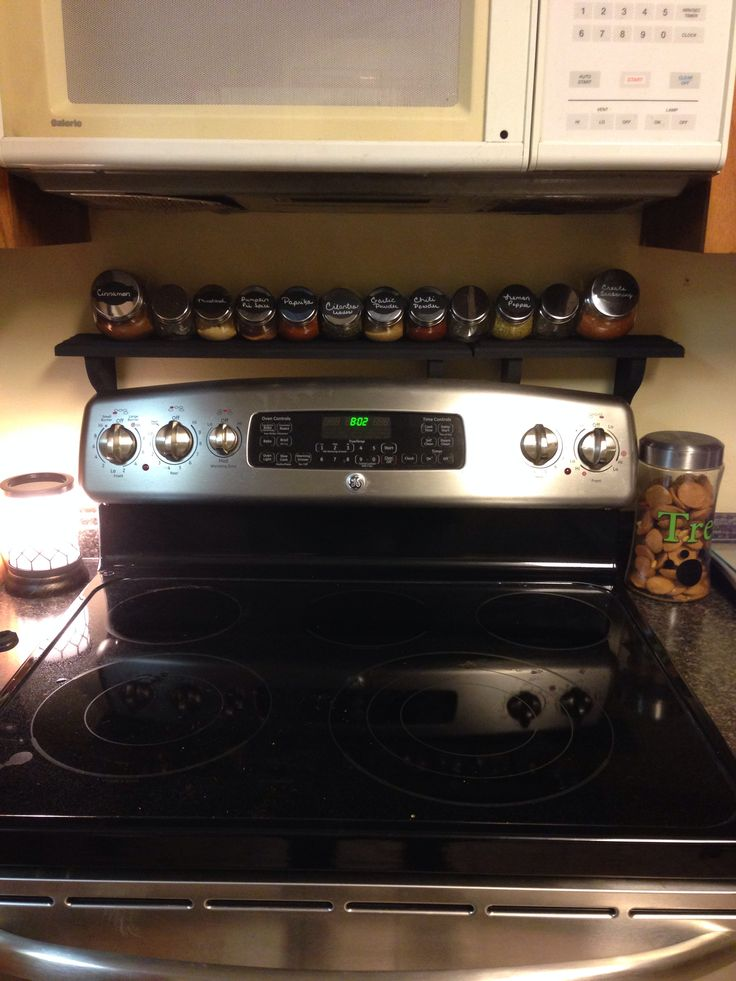 Kitchen Organization Organization Pinterest Stove