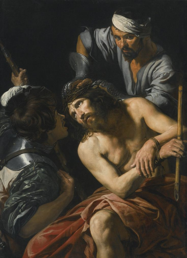 Valentin de Boulogne | The Crowning with Thorns, 1620 | Art in Detail