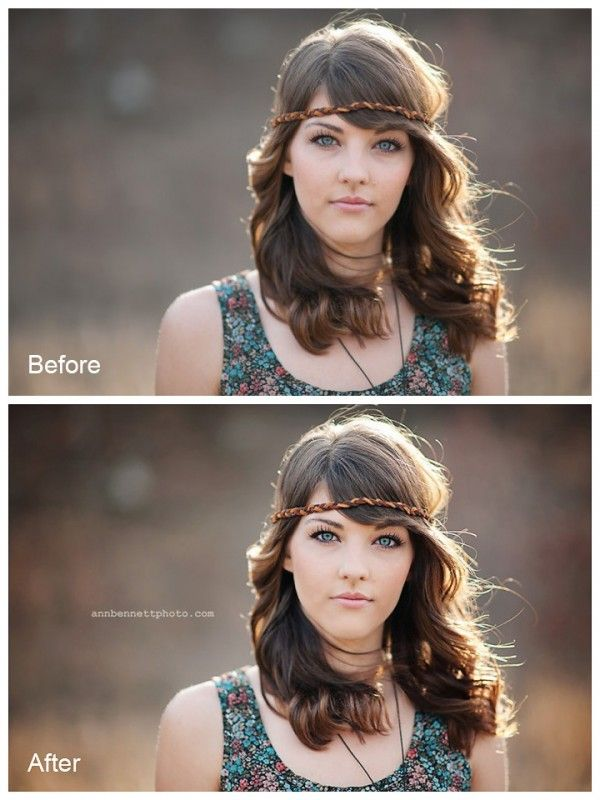 Models and High School Senior Photo Editing Made Easy