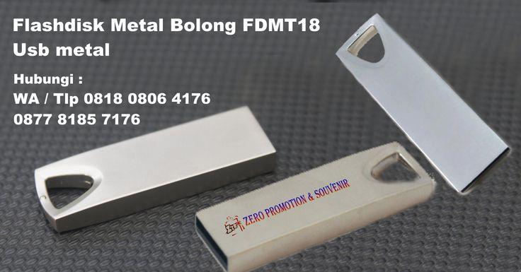 Jual Flashdisk Metal Bolong FDMT18 – Usb metal