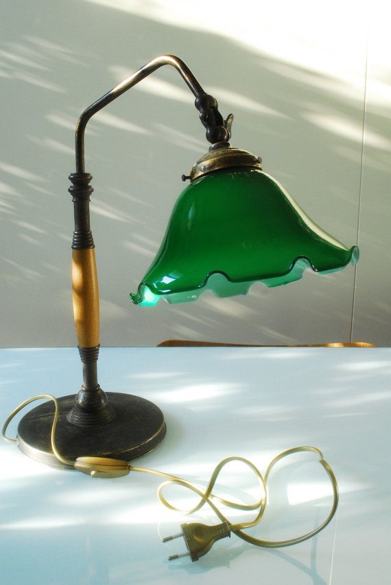 Victorian Style Vintage Bankers Lamp Desk Lamp Home Office