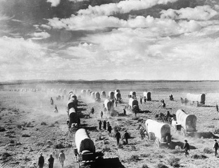 Manifest Destiny: wagon train (1870-1880)