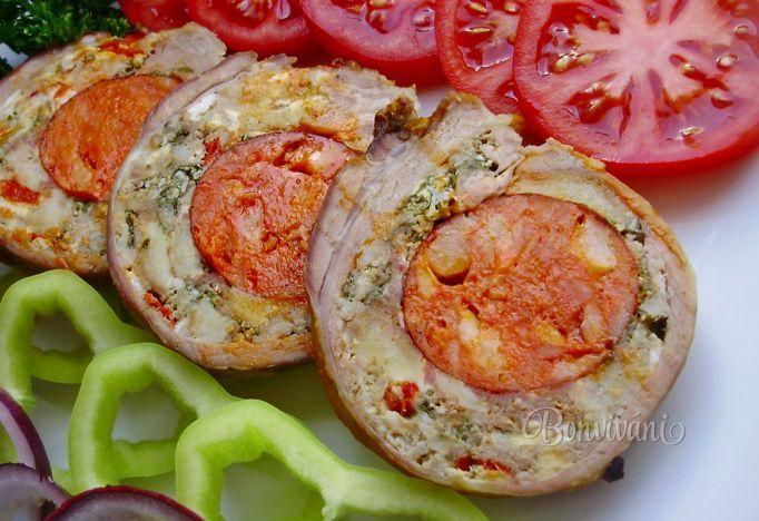 Roláda z bôčika • recept • bonvivani.sk