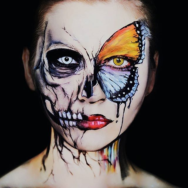 Recreate This Look with Graftobian's ProPaint. Makeup by @algmakeup #Graftobian…