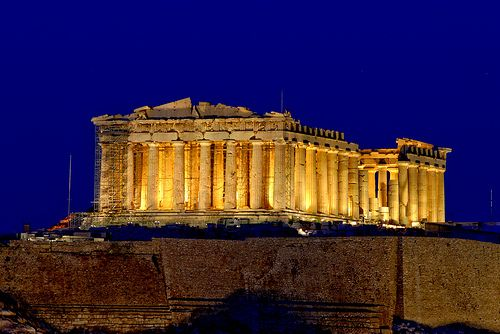 The Parthenon was designed using the Golden Proportion. The relative relationship of shapes or forms to one another. FAS201 Humanities