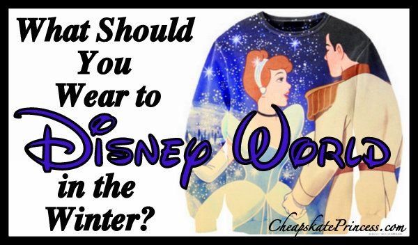Wear to Disney World in the Winter, dress for Disney World, pack for Disney, Disney bags, weather in Orlando