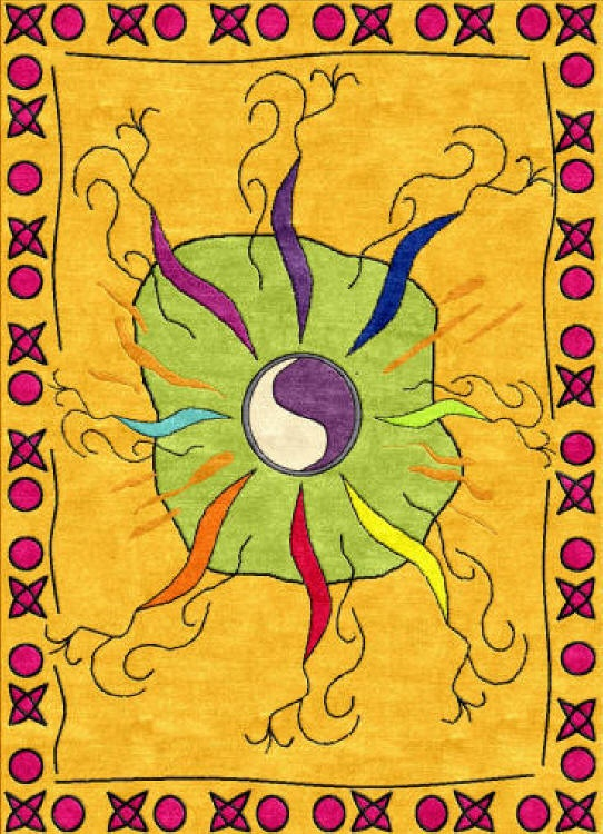 Designs By Rosanna Inspiration A Meditation Rug Notablerugsca