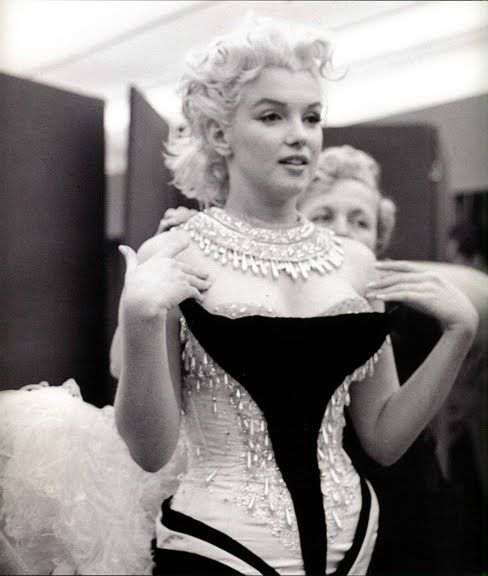 Marilyn, photographed by Milton Greene, 1955