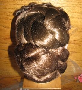 How to make Victorian Evening Hairstyles - This is PERFECT.  Tutorials with photos on making hairpieces, hairstyling and finishing the look.