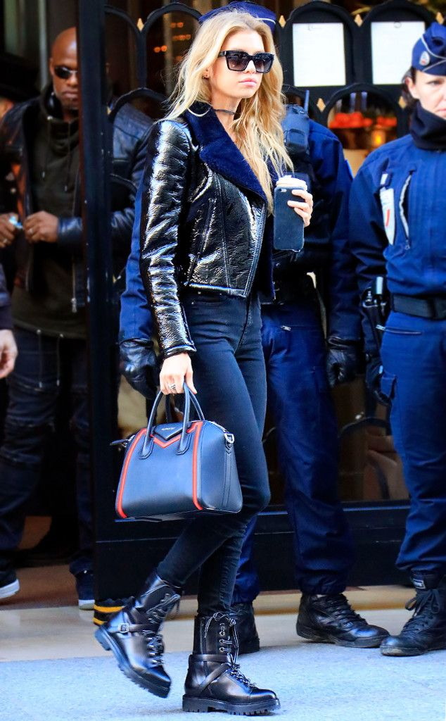 Stella Maxwell from Victoria's Secret Models Off-Duty Style